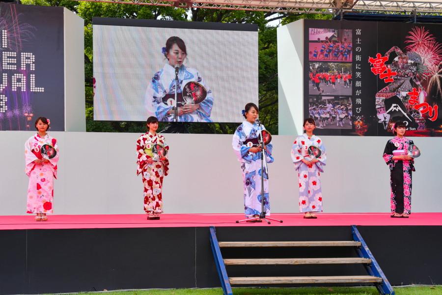 かぐや姫コンテストの決勝審査