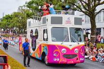 ディズニーパレード風景
