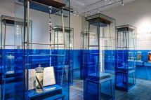 教室を活用した展示室