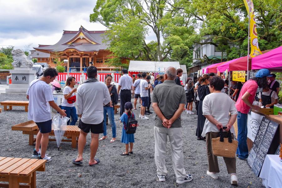 夏祭り開催の富知六所(三日市)浅間神社