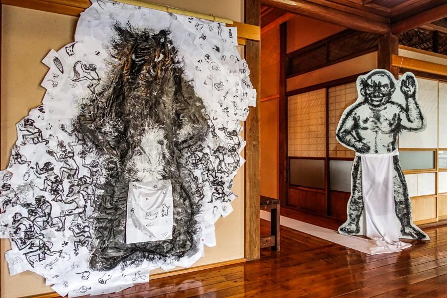 伊藤千史展開催の富士芸術村