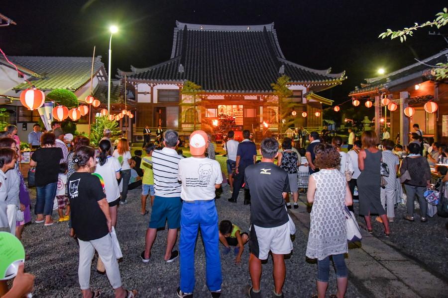 岩船地蔵尊大祭開催の圓照寺