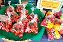 有機野菜等の販売