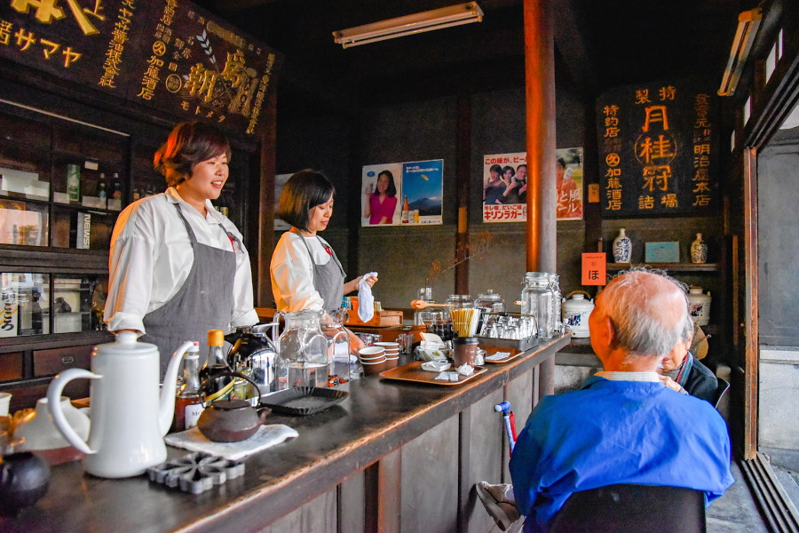 旧加藤酒店で「hand in handカフェ」期間限定オープン