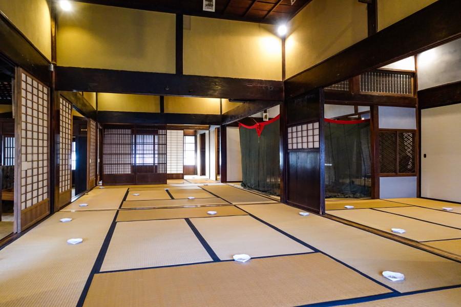 富士川エリア(小休本陣常盤邸)の展示作品