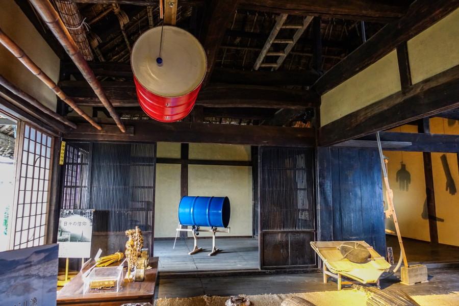 富士川エリア(富士川民俗資料館)の展示作品