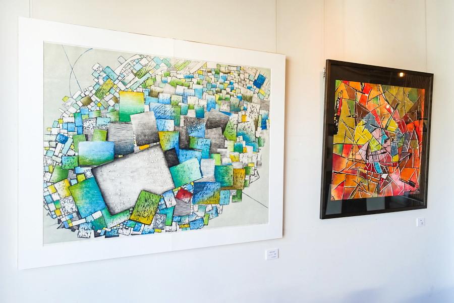 ナンシー諸善さんの個展「WOODCUT」開催のAlternative Space ARATA