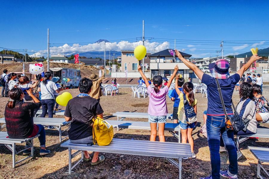 秋の大感謝祭開催の神戸陽だまりの丘