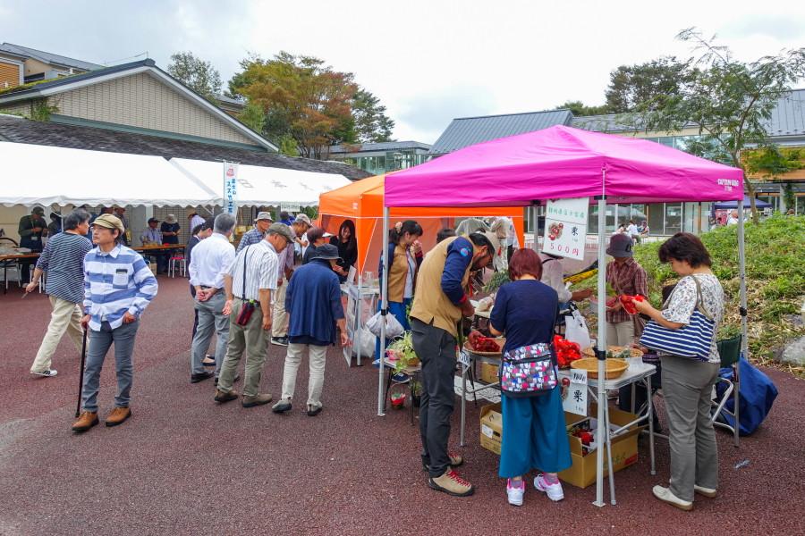 イベント開催の日大生物資源科学部富士自然教育センター
