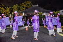永明寺での舞