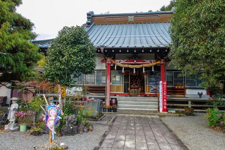 縄文DNA展開催の三澤寺