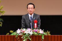 富士市長の祝辞